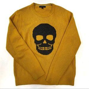 EUC Men's Banana Republic Golden Skull Sweater